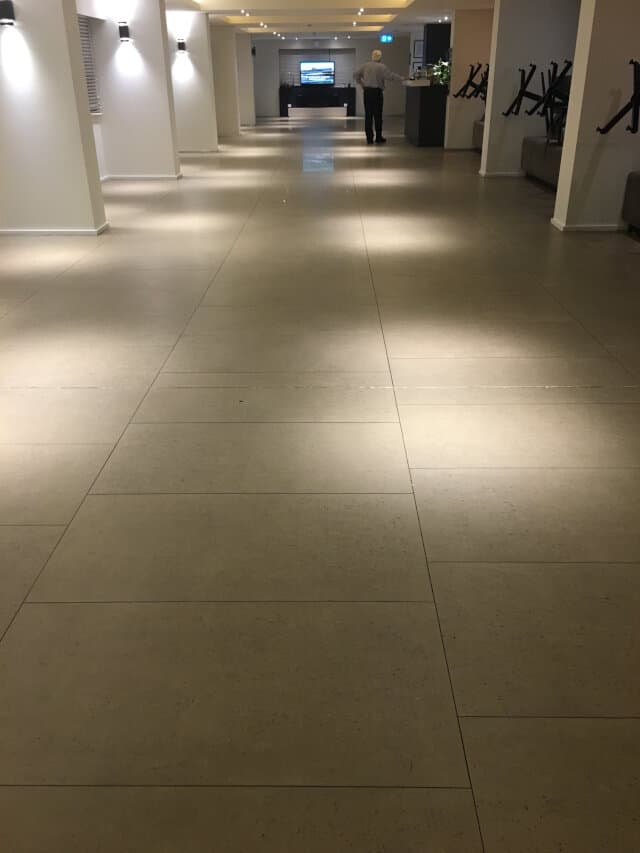 before clean polish shopping centre business office porcelain
