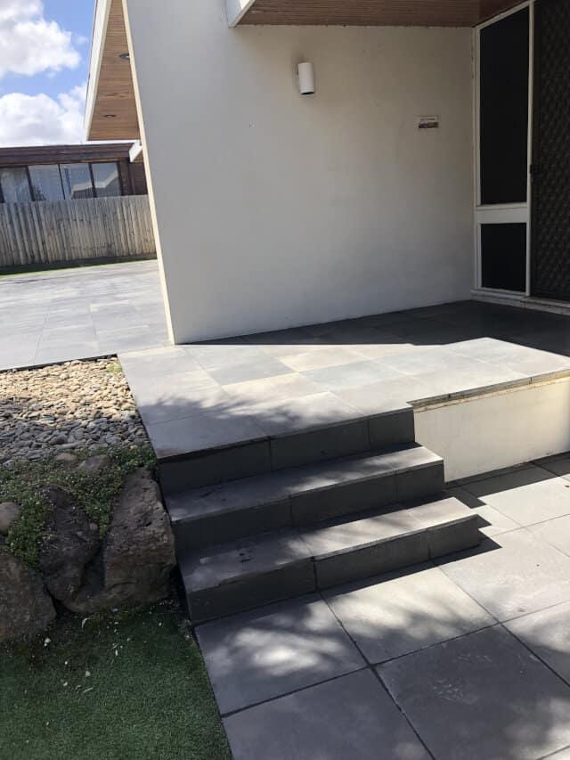 after bluestone tile repair