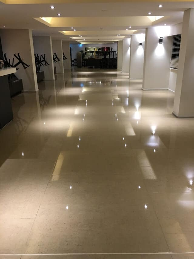 after clean polish shopping centre business office porcelain