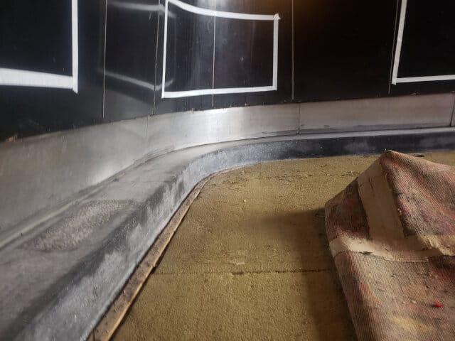 terrazzo grinding sealing before