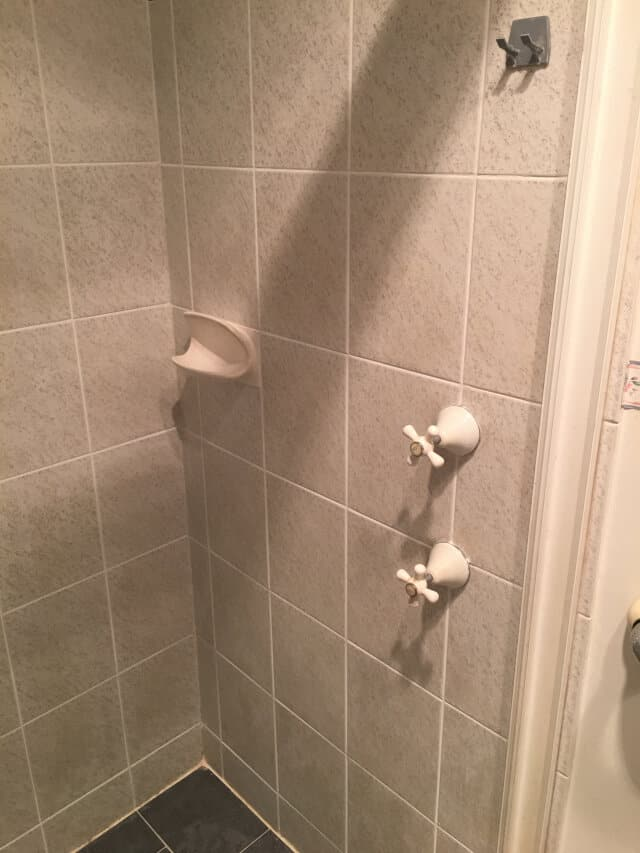 after shower regrout silicone grout line seal ceramic