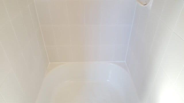 bathtub shower regrout porcelain after