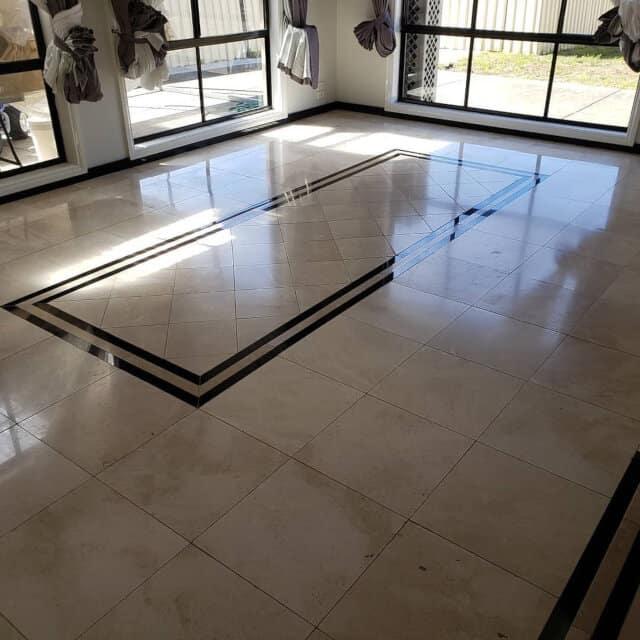 lounge marble polishing before