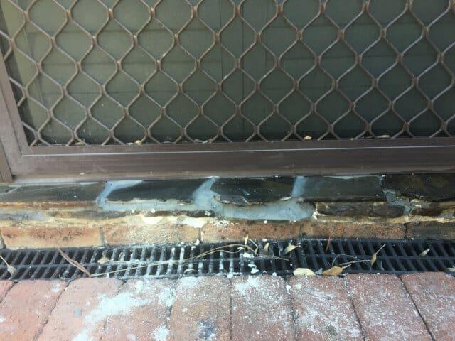 after slate tile repair