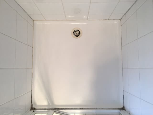 shower silicone replacement before
