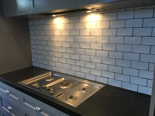 after regrout porcelain subway tile