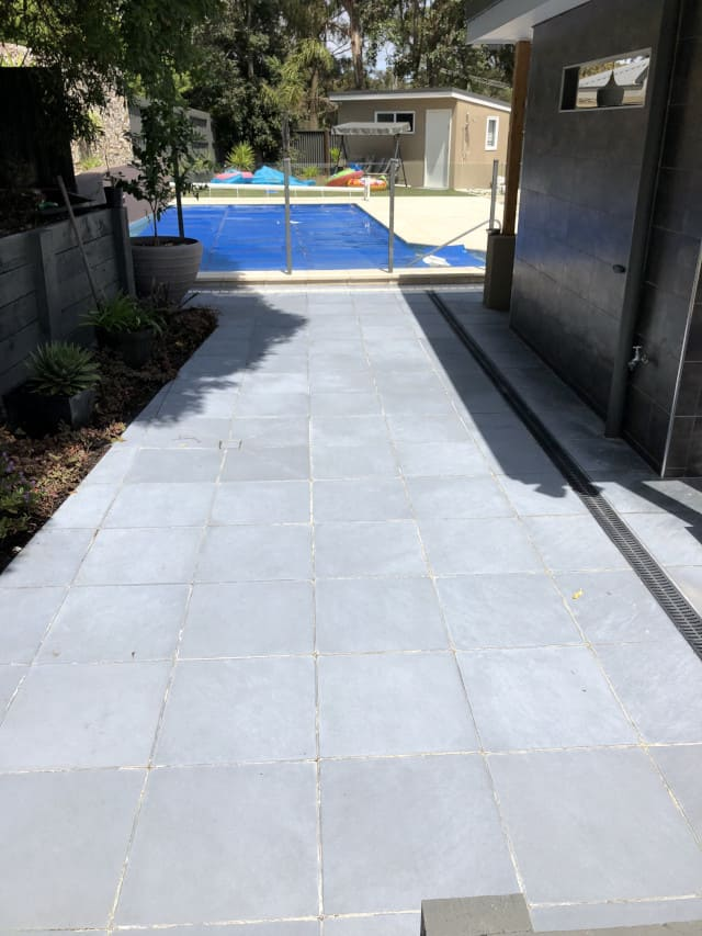 after paver clean outdoor mould removal
