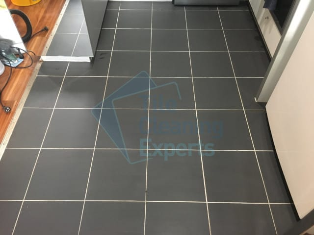 kitchen tile and grout cleaning after