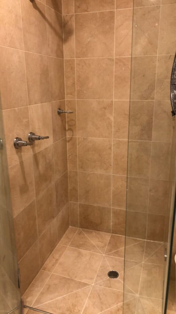 after shower regrout marble seal polish