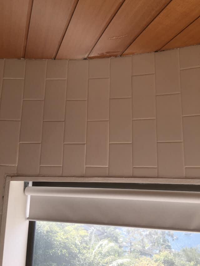 after tile replacement porcelain subway tiles bathroom waterproof