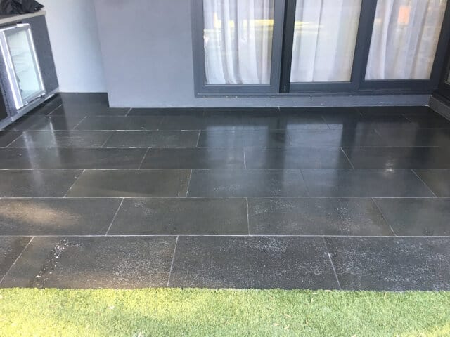 Bluestone strip and seal after